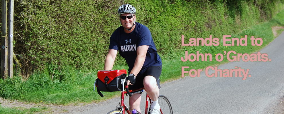 Lands End to John o'Groats for Charity Image